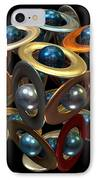 Kepler's Dream IPhone Case by Manny Lorenzo