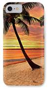 Key West Beach IPhone Case by Marty Koch