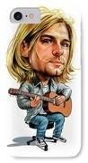 Kurt Cobain IPhone Case by Art