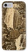 La Coca Falls El Yunque National Rainforest Puerto Rico Prints Rustic IPhone Case by Shawn O'Brien