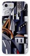 La Rive Gauche IPhone Case by Catherine Abel
