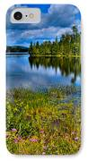 Lake Abanakee At Indian Lake New York IPhone Case by David Patterson
