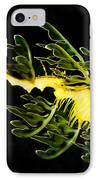 Leafy Sea Dragon IPhone Case by James Roemmling