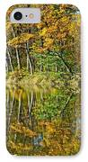 Leaning Trees IPhone Case by Frozen in Time Fine Art Photography