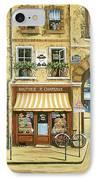 Les Rues De Paris IPhone Case by Marilyn Dunlap