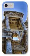 Library Of Celsus IPhone Case by David Smith