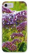 Limonium - Statice IPhone Case by Artist and Photographer Laura Wrede