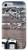Lisbon Rooftops I IPhone Case by Marco Oliveira