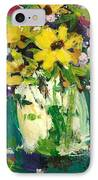 Little Daisies IPhone Case by Sherry Harradence