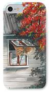 Little West Indian House 1 IPhone Case by Karin  Dawn Kelshall- Best