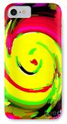 Lol Happy Iphone Case Covers For Your Cell And Mobile Devices Carole Spandau Designs Cbs Art 147 IPhone Case by Carole Spandau