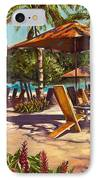Lola's In Costa Rica IPhone Case by Christie Michael