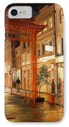 London Chinatown IPhone Case by Paul Krapf