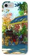 Longfellows Wayside Inn IPhone Case by Barbara McDevitt