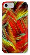 Lost In Thoughts - Abstract Digital Painting By Giada Rossi IPhone Case by Giada Rossi