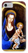 Madonna And Child IPhone Case by Genevieve Esson