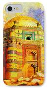 Mai Jwandi Tomb On Makli Hill IPhone Case by Catf