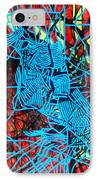 Maiden In Blue - Mary In The Temple IPhone Case by Gloria Ssali