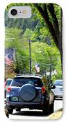 Main Street IPhone Case by Patti Whitten
