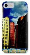 Manhattan Highlights IPhone Case by Benjamin Yeager