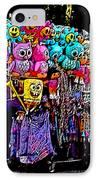 Mardi Gras Vendor's Cart IPhone Case by Marian Bell