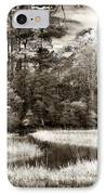 Marshes IPhone Case by John Rizzuto