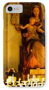 Mary And Baby Jesus IPhone Case by Syed Aqueel