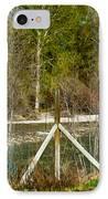 Methow River Springtime IPhone Case by Omaste Witkowski