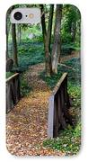 Metroparks Pathway IPhone Case by Frozen in Time Fine Art Photography