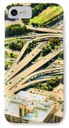 Mini Motorway IPhone Case by Andrew Paranavitana