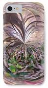 Morphed Art Globe 36 IPhone Case by Rhonda Barrett