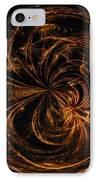 Morphed Art Globe 40 IPhone Case by Rhonda Barrett