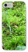 Mossy Bed IPhone Case by Christina Frey