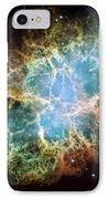 Most Detailed Image Of The Crab Nebula IPhone Case by Adam Romanowicz