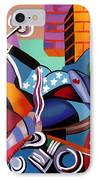Motorcycle Mama IPhone Case by Anthony Falbo