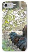 Mr. Rooster Struts IPhone Case by Artist and Photographer Laura Wrede