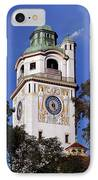 Mullersches Volksbad Munich Germany - A 19th Century Spa IPhone Case by Christine Till