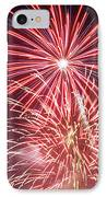 4th Of July Fireworks 1 IPhone Case by Howard Tenke
