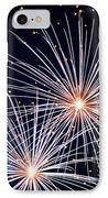 4th Of July Fireworks 3 IPhone Case by Howard Tenke