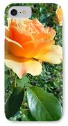 My Love Is Like A Rose IPhone Case by Kay Gilley