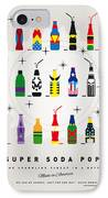 My Super Soda Pops No-00 IPhone Case by Chungkong Art