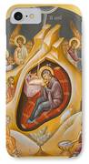 Nativity Of Christ IPhone Case by Julia Bridget Hayes