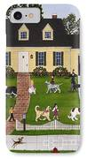 Neighborhood Dog Show IPhone Case by Linda Mears