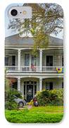 New Orleans Frat House IPhone Case by Steve Harrington