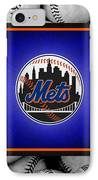 New York Mets IPhone Case by Joe Hamilton