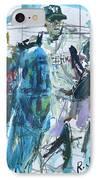 New York Yankees Artwork IPhone Case by Robert Joyner