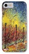 Night In The Park II IPhone Case by Ash Hussein