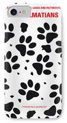 No229 My 101 Dalmatians Minimal Movie Poster IPhone Case by Chungkong Art