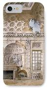 Monastery Of St Trinita Del Monte IPhone Case by Charles Louis Clerisseau