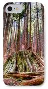 Northwest Old Growth IPhone Case by Spencer McDonald